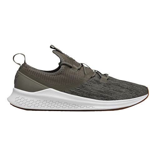 Mens New Balance Fresh Foam Lazr v1 Running Shoe - Black/White 12