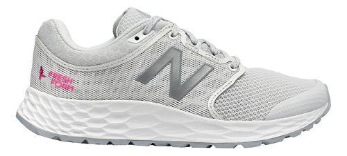 Womens New Balance 1165v1 Walking Shoe - Grey/White/Pink 10.5