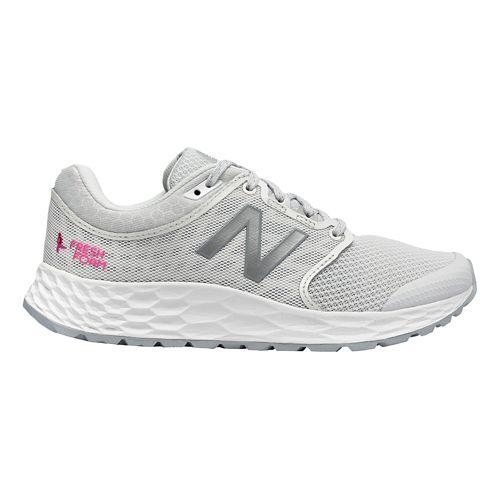 Womens New Balance 1165v1 Walking Shoe - Grey/White/Pink 5.5