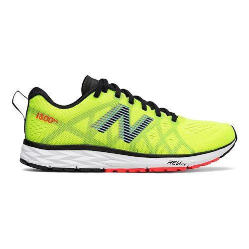 Womens New Balance 1500v4 Running Shoe - Yellow/Black/Blue 6
