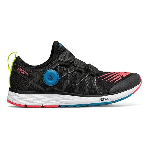 Womens New Balance 1500v4 - BOA Running Shoe - Black/Yellow/Blue 9