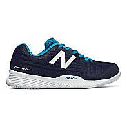 Womens New Balance 896v2 Court Shoe - Pigment/Blue 6