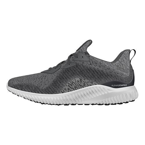 Womens adidas Alphabounce HPC AMS Running Shoe - Grey/White 9