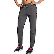 Womens Champion Fleece Jogger Pants - Granite Heather M