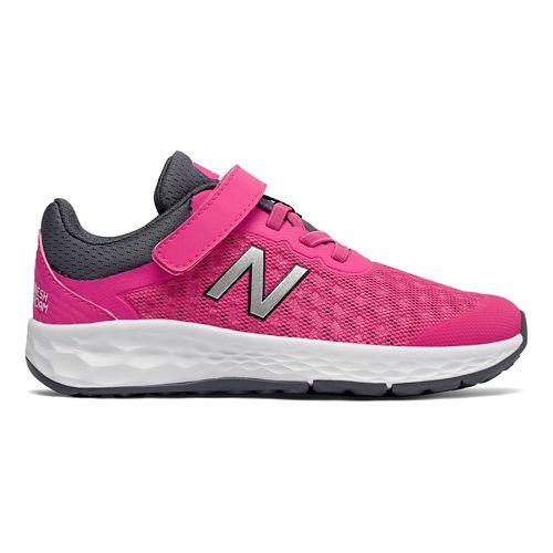 Kids New Balance Kaymin v1 Running Shoe - Pink/Thunder 4C