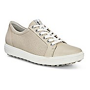 Womens Ecco Golf Casual Hybrid 2 Cleated Shoe - Oyster White 36