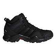 Mens adidas Terrex AX2R Mid GTX Hiking Shoe - Black/Black 10