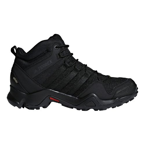 Mens adidas Terrex AX2R Mid GTX Hiking Shoe - Black/Black 9.5