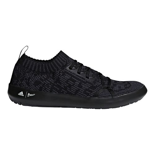Mens adidas Terrex Boat DLX Parley Casual Shoe - Black/Carbon/White 10