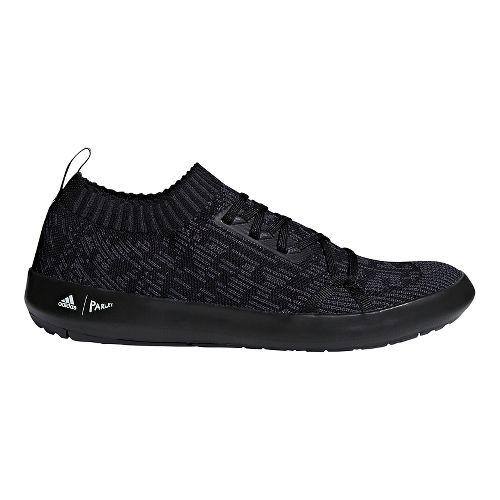 Mens adidas Terrex Boat DLX Parley Casual Shoe - Black/Carbon/White 7.5