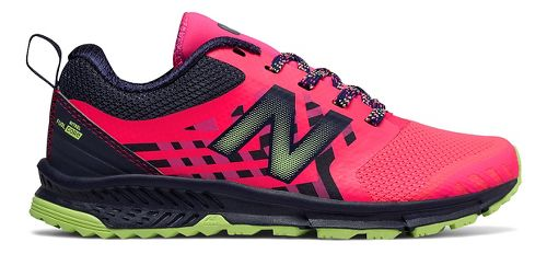 Kids New Balance FuelCore Nitrel Running Shoe - Pink/Grey 3.5Y