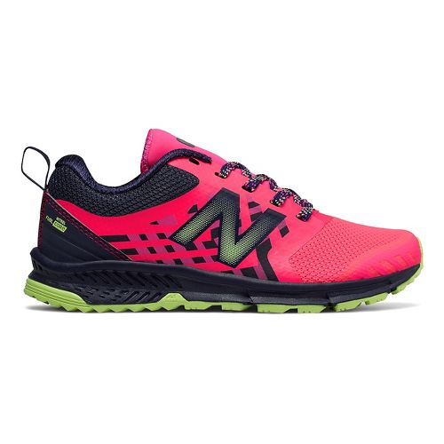 Kids New Balance FuelCore Nitrel Running Shoe - Pink/Grey 2.5Y