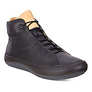 Womens Ecco Kinhin Mid Casual Shoe - Black/Veg Tan 38