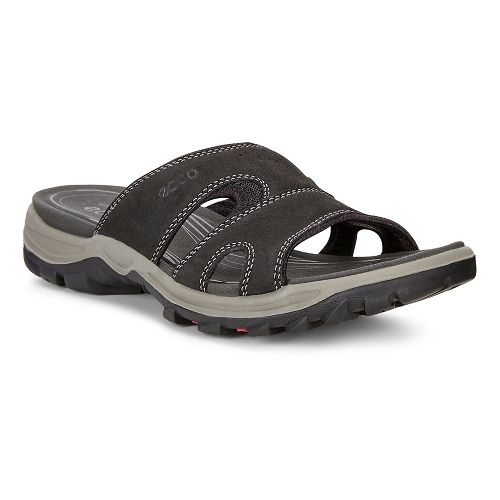 Womens Ecco Offroad Lite Slide Sandals Shoe - Black/Black 36