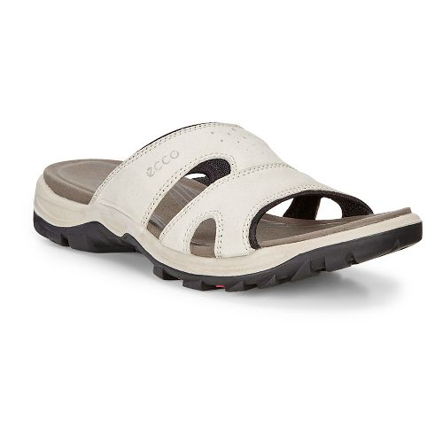 Womens Ecco Offroad Lite Slide Sandals Shoe - Gravel/Black 40
