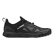 Mens adidas Terrex CC Voyager Aqua Trail Running Shoe - Black/Black 12