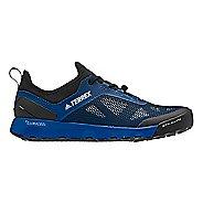 Mens adidas Terrex CC Voyager Aqua Trail Running Shoe - Blue/Black/Grey 9.5