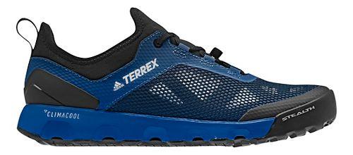 Mens adidas Terrex CC Voyager Aqua Trail Running Shoe - Blue/Black/Grey 10