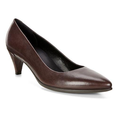 Womens Ecco Shape 45 Sleek Pump Casual Shoe - Coffee 41