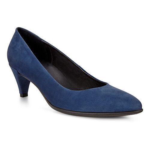 Womens Ecco Shape 45 Sleek Pump Casual Shoe - Blue Iris 39