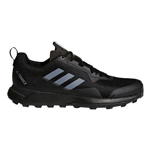 Mens adidas Terrex CMTK Trail Running Shoe - Black/White/Grey 7.5