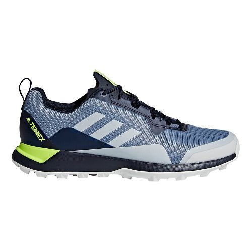 Mens adidas Terrex CMTK Trail Running Shoe - Steel/Grey/Orange 6.5