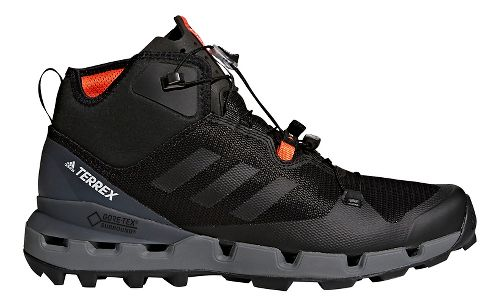 Mens adidas Terrex Fast Mid GTX - Surround Hiking Shoe - Black/Grey 6
