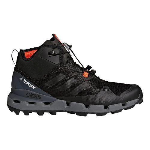 Mens adidas Terrex Fast Mid GTX - Surround Hiking Shoe - Black/Grey 10