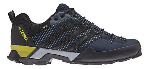 Mens adidas Terrex Scope GTX Hiking Shoe - Blue/Black/Yellow 8.5