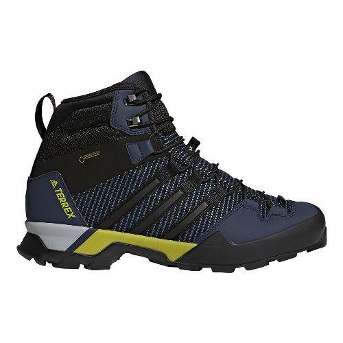 Mens adidas Terrex Scope High GTX Hiking Shoe - Blue/Black 8
