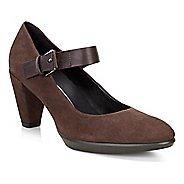 Womens Ecco Shape 55 Buckle Mary Jane Casual Shoe - Coffee/Coffee 39