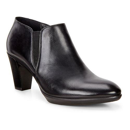 Womens Ecco Shape 55 Plateau Stack Shootie Casual Shoe - Black 42