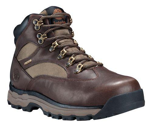 Mens Timberland Chocoura Trail 2 Mid Hiking Shoe - Brown Full Grain 8.5