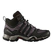 Mens adidas Terrex Swift R Mid Hiking Shoe - Granite/Black/Grey 11.5
