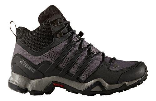 Mens adidas Terrex Swift R Mid Hiking Shoe - Granite/Black/Grey 8