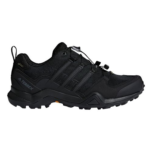 Mens adidas Terrex Swift R2 GTX Hiking Shoe - Black/Black 8.5
