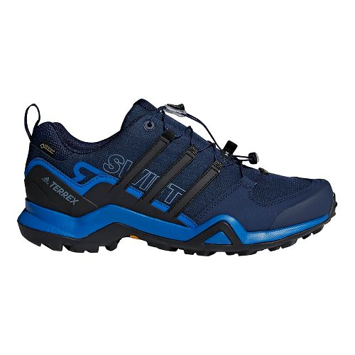 Mens adidas Terrex Swift R2 GTX Hiking Shoe - Navy/Black 7.5