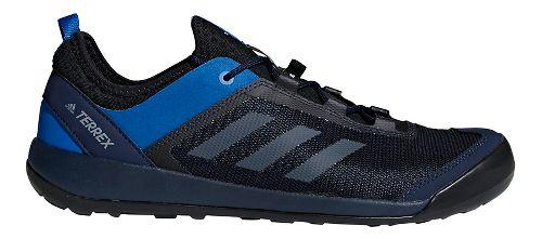 Mens adidas Terrex Swift Solo Hiking Shoe - Navy/Grey 11.5