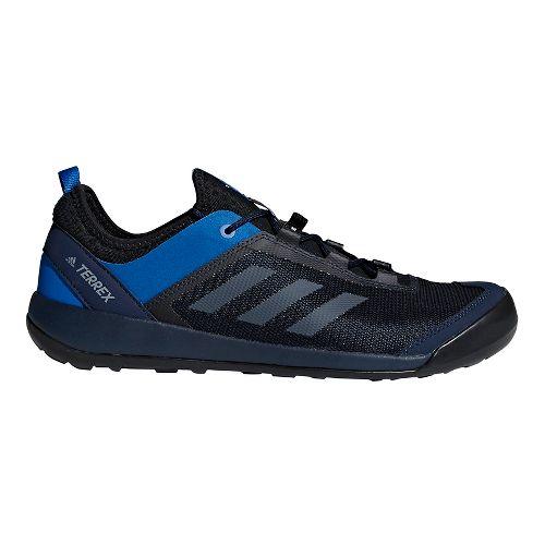 Mens adidas Terrex Swift Solo Hiking Shoe - Navy/Grey 7.5