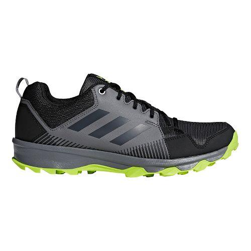 Mens adidas Terrex Tracerocker Trail Running Shoe - Black/Carbon/Grey 9