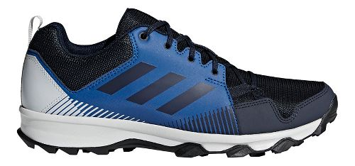 Mens adidas Terrex Tracerocker Trail Running Shoe - Navy/Grey 9.5