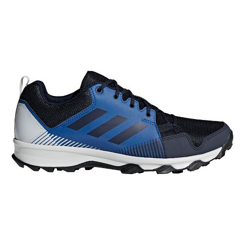 Mens adidas Terrex Tracerocker Trail Running Shoe - Navy/Grey 9