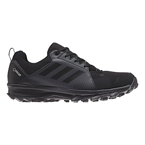 Mens adidas Terrex Tracerocker GTX Trail Running Shoe - Black/Carbon 7