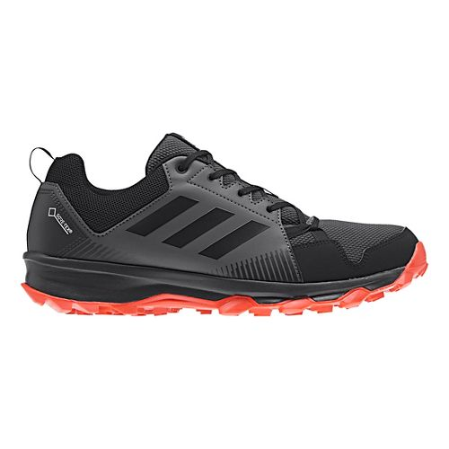 Mens adidas Terrex Tracerocker GTX Trail Running Shoe - Navy/Grey 7.5