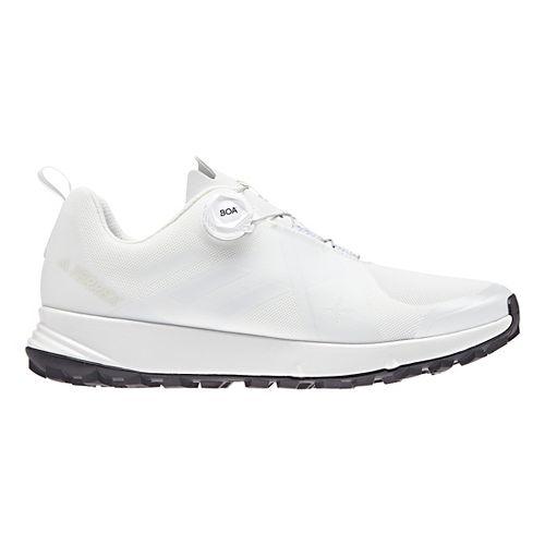 Mens adidas Terrex Two BOA Trail Running Shoe - White/Black 10