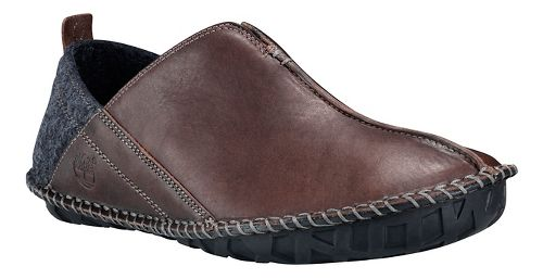 Mens Timberland Front Country Lounger Casual Shoe - Brown Full Grain 8