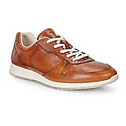 Womens Ecco Sneak Retro Tie Casual Shoe