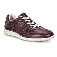Womens Ecco Sneak Retro Tie Casual Shoe