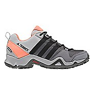 Womens adidas Terrex AX2 CP Hiking Shoe - Grey/Black/Coral 6