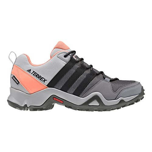 Womens adidas Terrex AX2 CP Hiking Shoe - Grey/Black/Coral 7